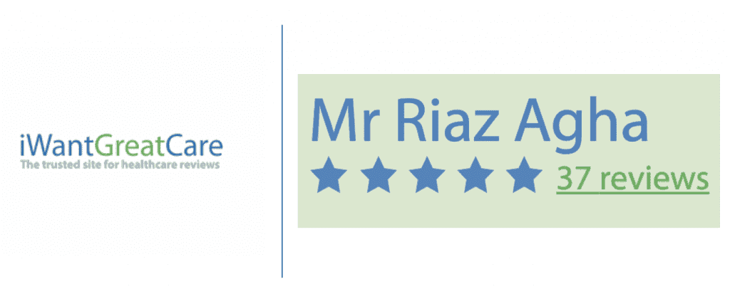 I want great care Riaz Agha