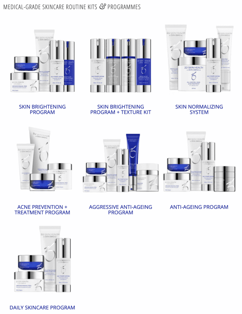 Zein Obagi - products